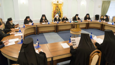Photo of Журналы заседания Синода Белорусского Экзархата от 11 декабря 2018 года