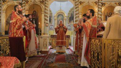 Photo of Архиерейское богослужение в Пятницу Светлой седмицы