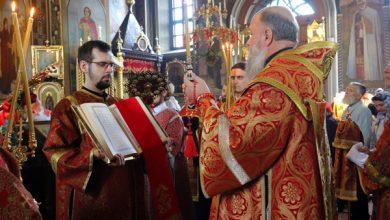 Photo of Архиерейское богослужение в канун Недели Антипасхи