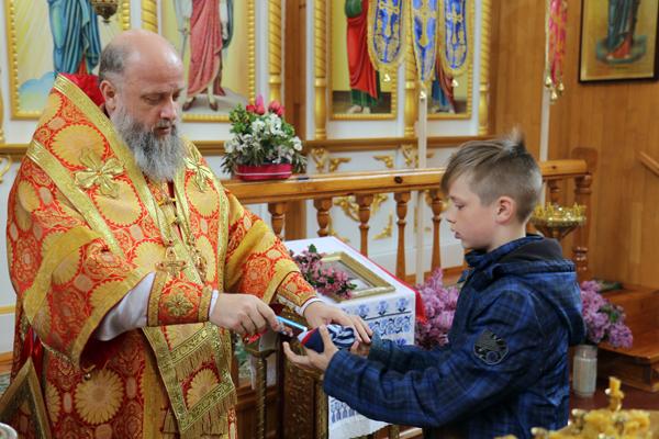 Photo of Архиерейское богослужение в день памяти великомученика Георгия Победоносца