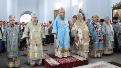 Photo of Архиепископ Иоанн принял участие в торжествах, посвященных памяти Сукневичского образа Пресвятой Богородицы