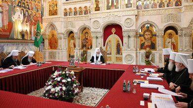 Photo of Журналы заседания Священного Синода от 9 июля 2019 года