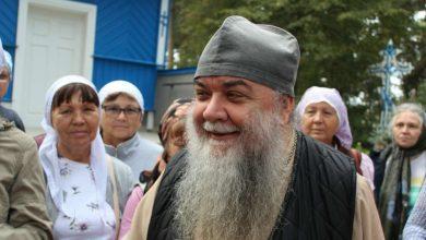 Photo of Владыка Иоанн поздравил Архимандрита Серафима (Петручика) с днем Ангела
