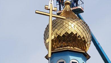 Photo of В строящейся церкви аг. Сушитница водружены купола