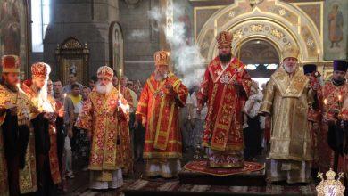 Photo of Архиепископ Иоанн принимает участие в праздновании дня памяти собора святых земли Житомирской