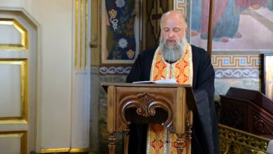 Photo of Архиерейское богослужение в канун дня памяти святого великомученика Пантелеимона