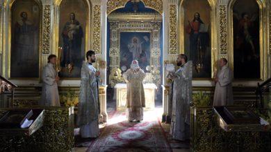 Photo of Архиерейское богослужение в Неделю 9-ю по Пятидесятнице: предпразднство Преображения Господня