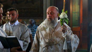 Photo of Архиепископ Иоанн совершил богослужение в кафедральном соборе преподобного Симеона Столпника в городе Бресте
