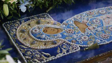 Photo of Архиепископ Иоанн совершил Всенощное бдение с Чином погребения Божией Матери в кафедральном соборе Бреста