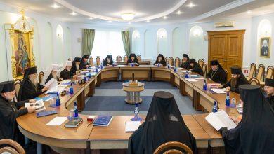 Photo of Журналы заседания Синода Белорусского Экзархата от 23 августа 2019 года