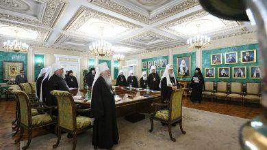 Photo of Журналы заседания Священного Синода от 30 августа 2019 года