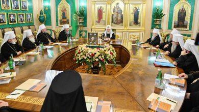 Photo of Журналы заседания Священного Синода от 17 октября 2019 года