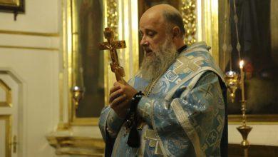 Photo of Архиерейское богослужение в канун дня памяти Владимирской иконы Божией Матери