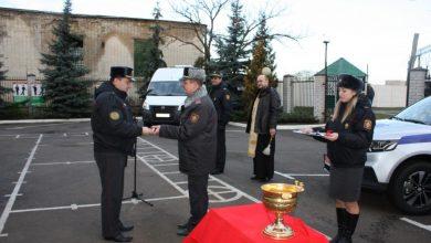 Photo of Освящение автомобилей Департамента охраны