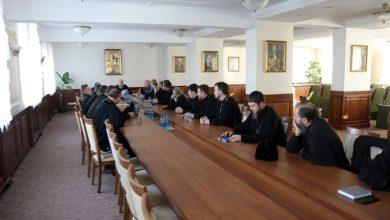 Photo of Состоялось собрание настоятелей городских приходов Брестской епархии
