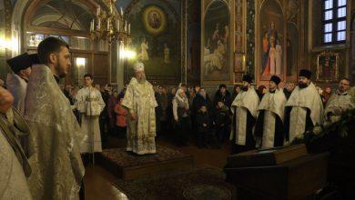 Photo of Архиерейское богослужение в канун Недели 32-й по Пятидесятнице, по Богоявлении