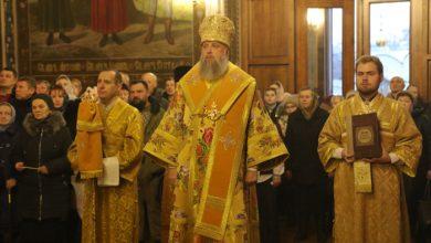 Photo of Архиерейское богослужение в Неделю 28-ю по Пятидесятнице: святых праотец