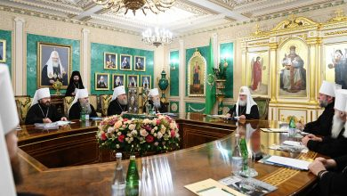 Photo of Журналы заседания Священного Синода от 29 октября 2019 года