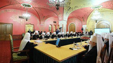 Photo of Журнал заседания Священного Синода и Высшего Церковного Совета от 25 декабря 2019 года