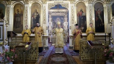 Photo of Архиерейское богослужение в канун Недели о мытаре и фарисее