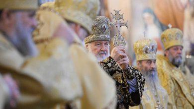Photo of Архиепископ Иоанн сослужил Святейшему Патриарху Кириллу за Литургией в 11-ю годовщину интронизации Предстоятеля РПЦ