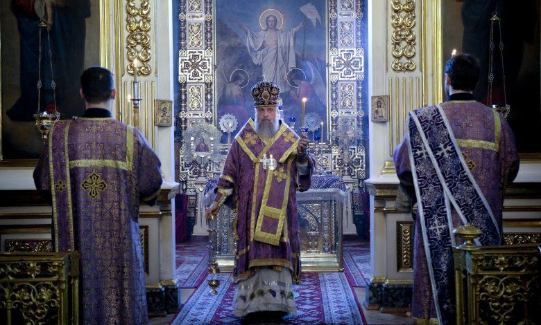 Photo of Архиерейское богослужение в канун субботы 2-й седмицы Великого поста