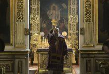Photo of Архиерейское богослужение в Неделю 4-ю Великого поста, прп. Иоанна Лествичника