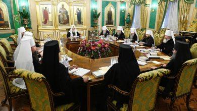 Photo of Журналы заседания Священного Синода от 11 марта 2020 года