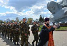 Photo of Председатель отдела по взаимодействию с Вооружёнными Силами принял участие в областном этапе акции «Во славу общей Победы!»