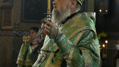 Photo of Архиерейское богослужение в канун дня памяти святых благоверных князей Петра и Февронии Муромских