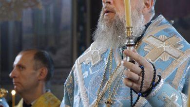 Photo of Архиерейское богослужение в канун дня памяти Тихвинской иконы Божией Матери