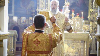 Photo of Архиерейское богослужение в Неделю 5-ю по Пятидесятнице