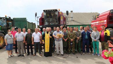 Photo of Уборочные работы в ОАО «Остромечево» Брестского района