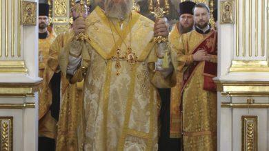 Photo of Архиерейское богослужение в канун Недели 8-й по Пятидесятнице