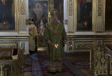 Photo of Архиерейское богослужение в канун дня памяти преподобного Моисея Угрина