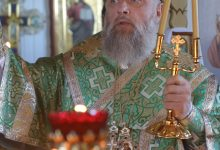 Photo of Архиерейское богослужение в день памяти преподобного Моисея Угрина, Печерского
