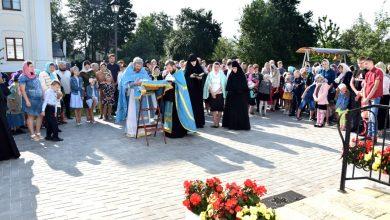 Photo of В Спасском монастыре было совершено молебное пение перед началом учения