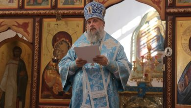 Photo of Архиерейское богослужение в день памяти прп. Силуана Афонского
