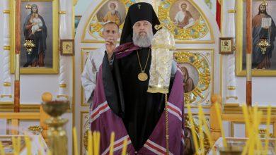 Photo of Архиерейское богослужение в субботу 16-ю по Пятидесятнице