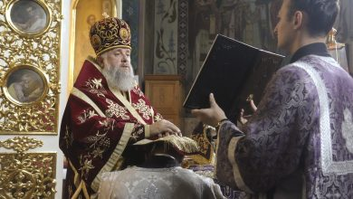 Photo of Архиерейское богослужение в праздник Воздвижения Животворящего Креста Господня