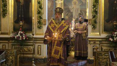 Photo of Архиепископ Иоанн совершил богослужение в кафедральном соборе г. Бреста