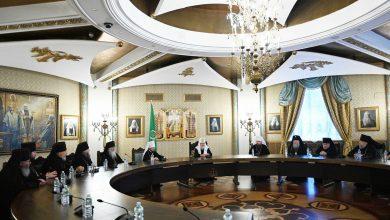 Photo of Святейший Патриарх Кирилл встретился с архиереями Белорусского экзархата