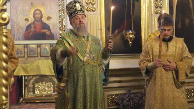 Photo of Архиерейское богослужение в канун памяти собора преподобных Оптинских старцев