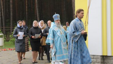 Photo of Архиерейское богослужение в день памяти иконы Божией Матери «Целительница»