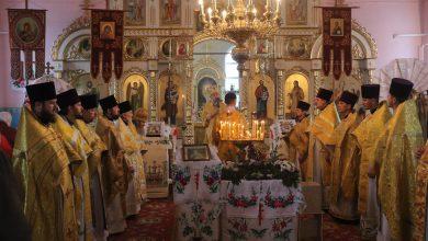 Photo of Архиерейское богослужение в субботу по Воздвижении